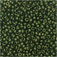 Miyuki Round Rocailles 11//0 Inside Dyed Ultramarine Luster Seed Bead RR-353