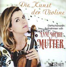 ANNE - SOPHIE MUTTER  Die Kunst der Violine - Box  Reader`s Digest  4 CD Box