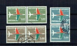 Portugal 1965 USED Pairs complete set #964-66 CTO 50 years Portuguese Air Force