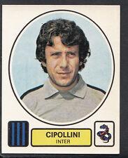 PANINI CALCIATORI FOOTBALL Adesivo 1977-78, N. 119, INTER MILAN-LUCCHESE