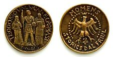 Medaglia Momens Storics Dal Friul - Teodosio Valeriane Cromasi 370-413 Bronzo