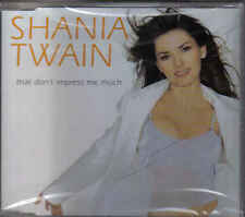Shania Twain-That Dont Impress Me Much cd maxi single sealed