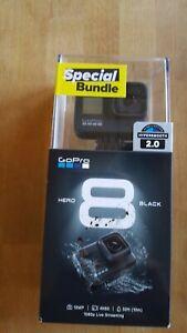 GoPro Hero 8 Black Special Bundle - new in factory sealed packaging