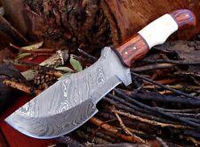 5Mm Full Tang Twist Pattern Damascus Steel Hunting Tracker Bush Knife A 41