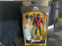 "HASBRO MARVEL LEGENDS X-FORCE X-MEN 6"" NIGHTCRAWLER BUILD WENDIGO"
