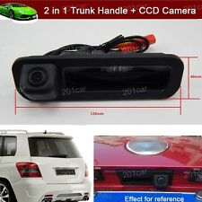 New Car Trunk Handle + CCD Reverse Parking Camera For Ford Focus Sedan 2011-2018