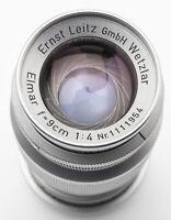 Ernst Leitz Wetzlar Elmar 9cm 9 cm 90mm 90 mm 4 1:4 - Leica M39 Anschluss