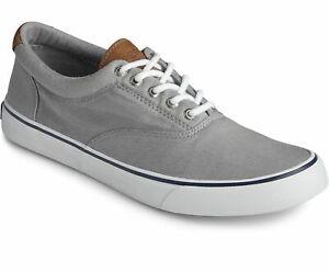 Sperry Men's Striper II CVO Sneaker - Salt Washed Grey NWB