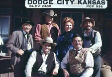 Gunsmoke Cast PHOTO Gorgeous Publicity Pic WILD WEST Television Series