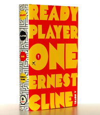 Ernest Cline Ready Player One Hardcover 1st Edition 1st Print Spielberg, VG