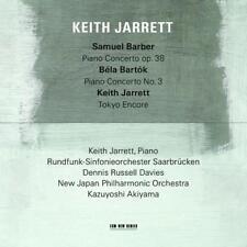 Samuel Barber/Bela Bartok von New Japan PO,Keith Jarrett,Akiyama,RSOSB,Davies (2015)