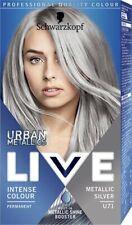 Schwarzkopf Live Colour Lift Permanent Hair Color Cream Dye U71 Metallic Silver