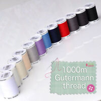 Gutermann Sew All Polyester Sewing Thread 1000m Choice of Colours Free Postage