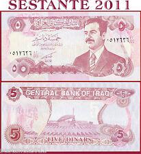 IRAQ  IRAK  - 5 DINARS 1992 SADDAM  -  P 80c   -   FDS / UNC