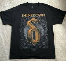 Shinedown North America Summer Tour 2013 Black Large