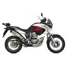 PER HONDA TRANSALP XL 700V ABS 2012 12 MARMITTA TERMINALE DI SCARICO LEOVINCE IN