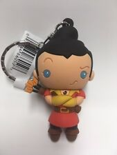 Disney Beauty and The Beast 3d Figural Keyring Series Cogsworth Keychain