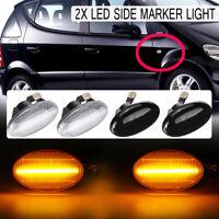 Lumière de marqueur d'indicateur latéral led pour Mercedes Smart W450 452 Vito W