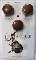 Used J Rockett Archer Clean Overdrive Boost Guitar Effects Pedal