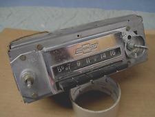 1962 1963 1964 1965 CHEVY II NOVA AND 1963 & 1964 CORVAIR AM PUSH BUTTON RADIO