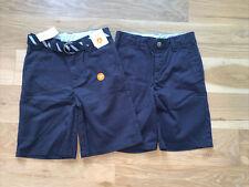 Gymboree Boys Navy Uniform Shorts Size 7 - Lot of 2 New