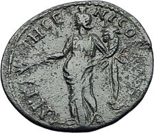 SEPTIMIUS SEVERUS 193AD Antioch Pisidia GENIUS Genuine Ancient Roman Coin i58105