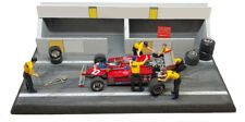 NCB002 Ferrari 126CK 1981 Gilles Villeneuve - Diorama Pit Stop Set 1/43 Scale