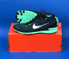 9e0134262679 WOMENS NIKE FREE 5.0 TR FIT 5 TRAINING SHOES   SIZE 6  BLACK-SILVER