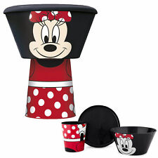 Disney / Character Kids 3 Piece Stacking Meal Set Cup Bowl Plate - Minnie Mouse