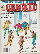 Cracked magazine 210 March 1985  - A-Team Sagebrush Mr. T