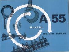 Austin A55 original Features Booklet Pub. No. 1519 not dated