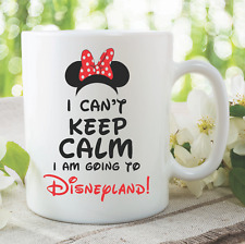 Nouveauté Mug I Am Going to Disneyland Friend cadeau tasse de café disney
