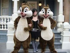 Advertising Squirrel Adults Mascot Costume suits Birthday party dress carnival