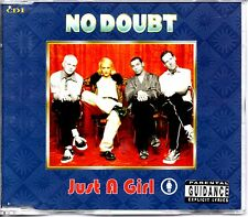 NO DOUBT - JUST A GIRL - 4 TRACK CD SINGLE 1 - MINT
