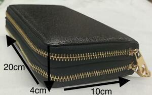 Ladies Double Zips Thick Purse Wallet Spacious Various Designs See Description