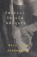 "GABRIEL GARCIA MARQUEZ ""News of a Kidnapping"" SIGNED First Printing"