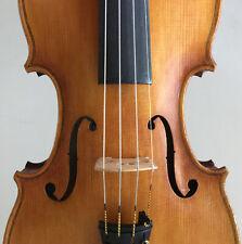 Old violin, 4/4, labeled Fr. Herclik 1921, excellent sound