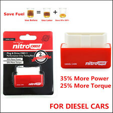 New Plug & Drive OBD 2 Power Box For Diesel Car Auto Chip Tuning ECU Remapping