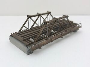 PLANS ONLY - Pony Truss Bridge G Scale (1:24) Custom Designed Model Railroad