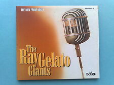 THE RAY GELATO GIANTS-THE MEN FROM UNCLE- RARO CD IRMA RECORDS COME NUOVO (MINT)
