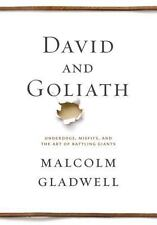 David and Goliath: Underdogs, Misfits & Art of Battling Giants: BRAND NEW, DJ !!