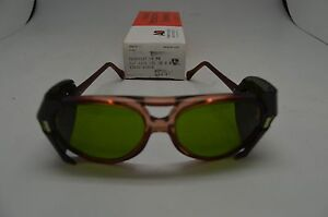 American Optical 8054 Red Green 1.7 Br 15 Lens 54. Full Shields. Steampunk
