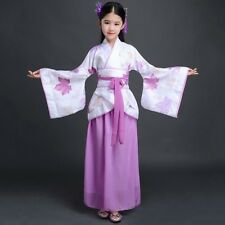 Enfants Filles Chinois Hanfu Robe Traditionnel Tang Dynasty Princesse Robes