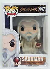 Funko Pop Saruman # 447 The Lord of the Rings Vinyl Figure Brand New