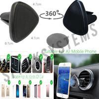 Car Universal Air Vent Magnetic Mount Holder for all Mobile Phone GPS Sat Nav