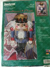 Rare Janlynn Nutcracker Christmas Needlepoint Kit sealed
