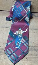 FLY FISHING TIE~IVY CREW~56+ INCHES~~~FLY FISHERMAN