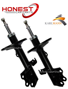 For TOYOTA PRIUS 2003-2009 FRONT SHOCK ABSORBERS X2 PAIR NEW (Shockers)