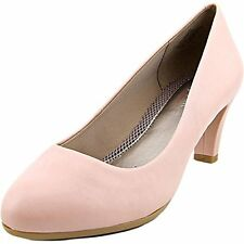 "Easy Spirit Neoma leather pump light PINK anti gravity 2.5 "" heels sz 9 Med New"
