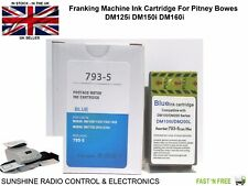 More details for pitney bowes replacement franking machine ink cartridge dm125i dm150i dm160i new